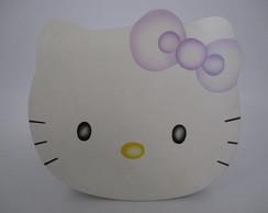 Caixa com Tampa Recorte Hello Kitty