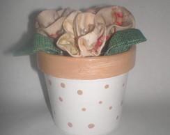 vasinho de flores lembrancinha