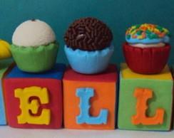 Cubos - Docinhos - Topo de bolo!!