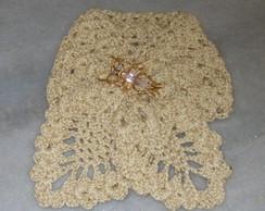 Gola feminina avulsa em croch�