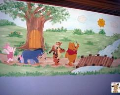 Painel Ursinho Pooh