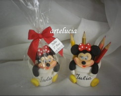 mickey e minnie-porta l�pis
