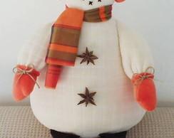 Boneco de neve fofucho
