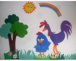 Painel da galinha pintadinha
