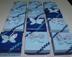 0064 Caixa Lembrancinha azul