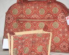 bolsa em tecido importado
