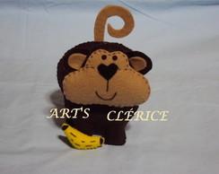Mascote em feltro - MACACO