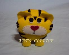 Mascote em feltro -TIGRE
