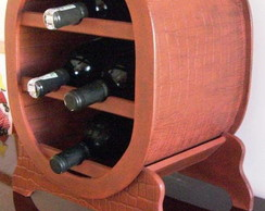 Adega para 4 garrafas de vinho