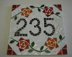 N�mero mosaico
