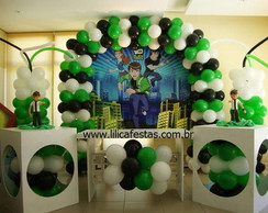 Decora��o Clean Ben10 Alien Force