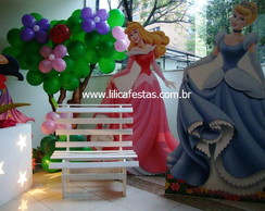 Decora��o Clean Princesas Disney