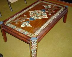 mesa de centro, reciclada..