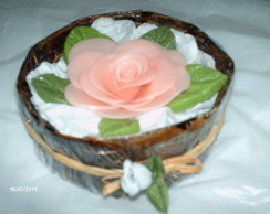 Sabonete de rosas mini para lavabo