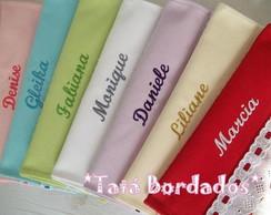 Toalha M�o / Lavabo Personalizada