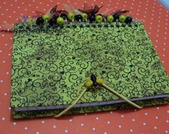 Caderninho abelha