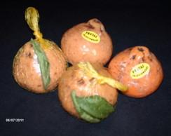 Sabonete de tangerina