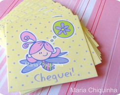 Card Nascimento - Fadoleta! 50un.