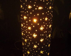 Lumin�ria estrelinhas