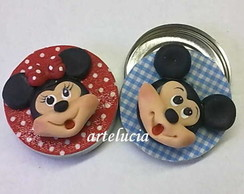 minnie e mickey latinha mint to be