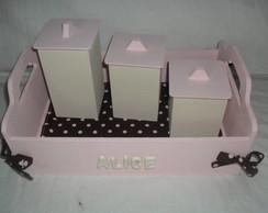 Kit Higiene Chocolate com Morango