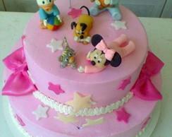 Bolo Decorado Baby Disney