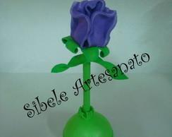 caneta flor lil�s