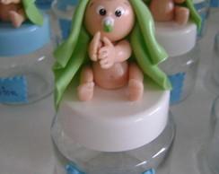 Lembrancinhas beb� com pote de vidro