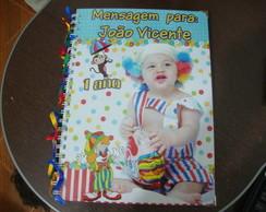 Caderno Mensagem Circo