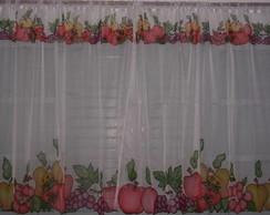 Cortinas para Cozinha Frutas