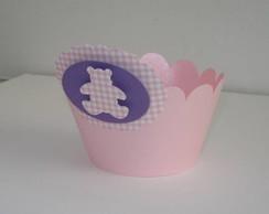 Forminha Wrapper para Cupcake urso