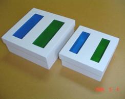 Conjunto caixas decorativas C100