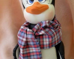 Pote Pinguim em biscuit