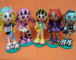Bonecas EVA - Cole��o Monster High