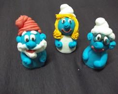 50 Docinhos fondados Smurfs