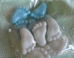 Mini sabonetes pezinhos