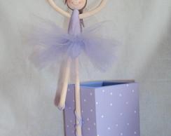 Porta l�pis Bailarina
