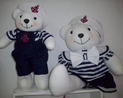 Ursinhos e Ursinhas para festa Nautica