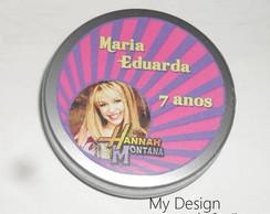 Latinha Personalizada Hannah Montana