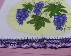 cachos de uvas,pano de prato Black Frida