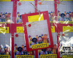 CONVITE SCRAPBOOK - TURMA DO COCORIC�