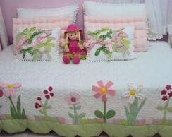 colcha cama de baba patchwork