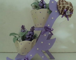 Suporte para Vasinhos de Flores