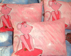 Almofada Porta Foto Angelina Ballerina