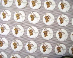 Arte para adesivo: Maternidade ursinho