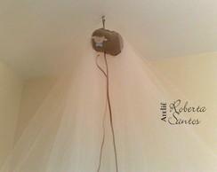 Mosquiteiro de teto - tule