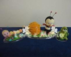 abelhinha para topo de bolo