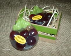 Sabonete cacho de uva
