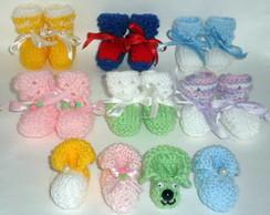 Mini sapatinhos Lembrancinha maternidade