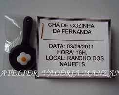 LEMBRANCINHA CONVITE CH� DE COZINHA
